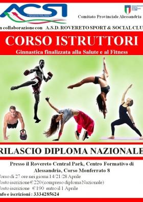 CORSO FORMAZIONE ISTRUTTORI